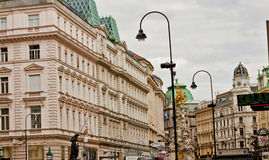 Scene  in Vienna ,Austria Stock Photos