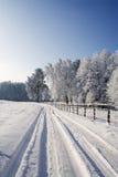 scene winter Στοκ φωτογραφία με δικαίωμα ελεύθερης χρήσης