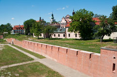 Scene of Zamosc Stock Photography