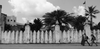 Scene from Zanzibar, Tanzania, Africa Royalty Free Stock Images