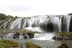The scenees of waterfall Royalty Free Stock Photos