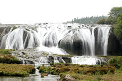 The scenees of waterfall Royalty Free Stock Photo
