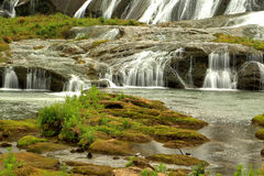 Sceneesna av vattenfallet Arkivfoton