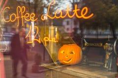 Sceneria dla świętować Halloween w Krakow Zdjęcia Royalty Free