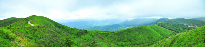 Sceneria górzysta Kanchanaburi prowincja Tajlandia Zdjęcie Stock