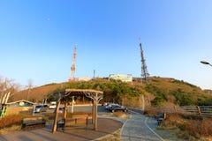 Sceneria Hwangnyeongsan halny szczyt Fotografia Stock