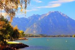 sceneria lake Obraz Stock