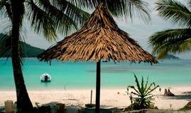 sceneria plażowa Fotografia Stock