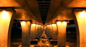 Sceneria pod mostem Obrazy Stock