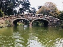Sceneria przy Japońskim Herbacianym ogródem obraz royalty free