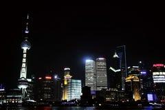 Sceneria Pudong, Shanghai, porcelana zdjęcia royalty free