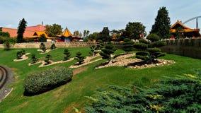 Sceneria Tematowy park jak Chiny fotografia royalty free
