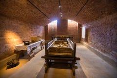 Sceneria w fortecznym Vaxholms kastell stockholm Szwecja Obrazy Stock