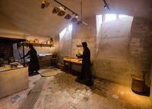 Sceneria w fortecznym Vaxholms kastell stockholm Szwecja Fotografia Royalty Free