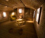 Sceneria w fortecznym Vaxholms kastell stockholm Szwecja Zdjęcie Stock