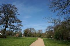 Sceneria w parku Zdjęcia Royalty Free