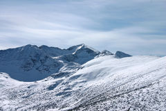 sceneria wysokogórska Obraz Royalty Free