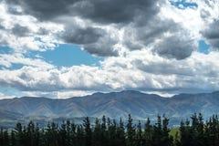 Sceneria z górą Cook, Nowa Zelandia Obrazy Stock