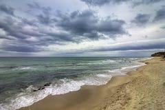 scenerii piękny morze Fotografia Royalty Free