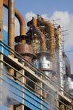 scenerii przemysłowy steelworks obrazy stock
