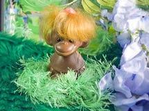 scenerii sztuczna stara retro zabawka Obrazy Royalty Free
