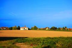 scenerii wioska Obrazy Royalty Free
