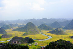 Scenery. The beautiful rural scenery karst landform Stock Photography