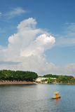 Scenery. Chinese Guangdong Dongguan with Shahu park scenery Royalty Free Stock Image