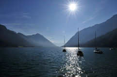 Scenery at Achensee Royalty Free Stock Images