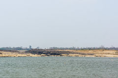 Scenery along the Mekong River Royalty Free Stock Photography