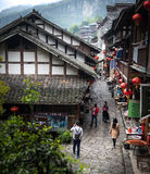 Scenery of the ancient town Stock Image