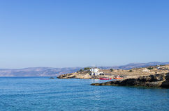 Scenery in Ano Koufonisi island, Cyclades, Greece Royalty Free Stock Images