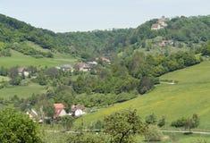 Scenery around Castle Tierberg Royalty Free Stock Photos