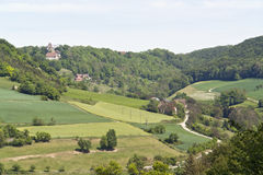 Scenery around Castle Tierberg Stock Photo
