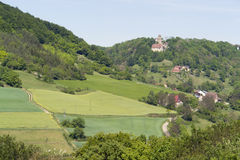 Scenery around Castle Tierberg royalty free stock images