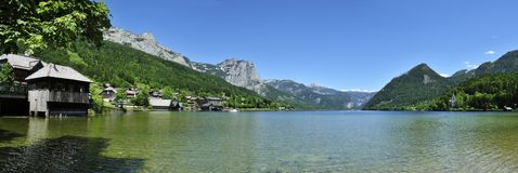 Scenery around Grundlsee Stock Photography