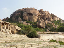 Scenery around Hampi Stock Photo