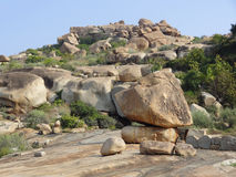 Scenery around Hampi Stock Photography