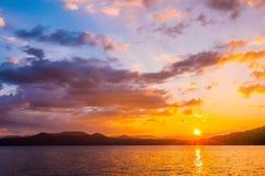 Scenery around lake jocasse gorge Stock Photo