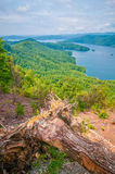 Scenery around lake jocasse gorge Royalty Free Stock Photos