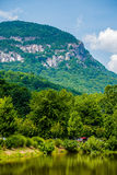 Scenery around lake lure north carolina Stock Images
