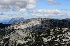Scenery around the mountain Hoher Krippenstein, Salzkammergut, Salzburg, Austria Royalty Free Stock Image