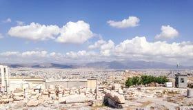 Scenery of Athens Stock Photo
