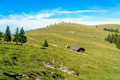 Scenery in the austrian alps Stock Photos