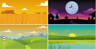 Scenery background Royalty Free Stock Photography