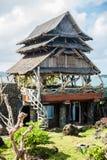The scenery on the beach, Boracay, Philippines Royalty Free Stock Photo