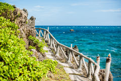 The scenery on the beach, Boracay, Philippines Royalty Free Stock Photography