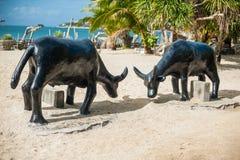 The scenery on the beach, Boracay, Philippines Stock Photo