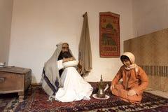 Scenery of a bedouin life Stock Photo