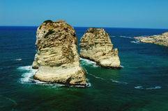 Scenery in Beirut Lebanon Stock Photos